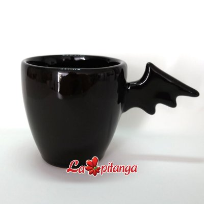 Caneca asa de morcego