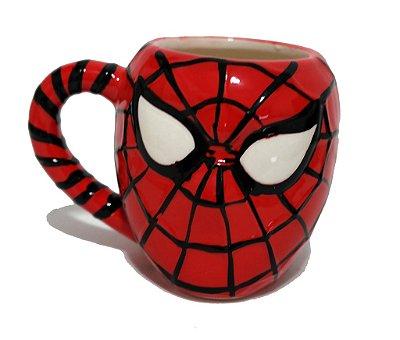 Caneca Cerâmica 3D Homem Aranha