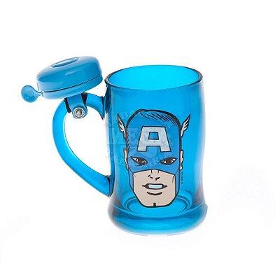 Caneco Campainha Capitão America Marvel
