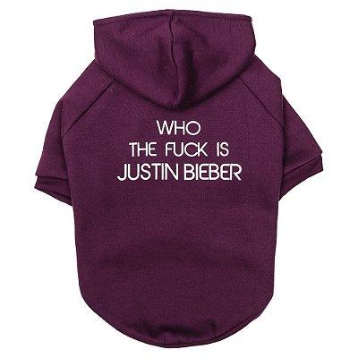 Moletom Justin Bieber