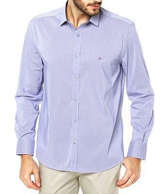 Camisa Aramis Slim Fit - Azul Claro