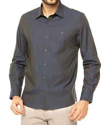 Camisa Aramis Slim Fit - Chumbo