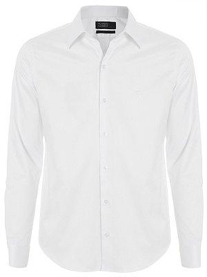 Camisa Ricardo Almeida Slim Fit - Branca