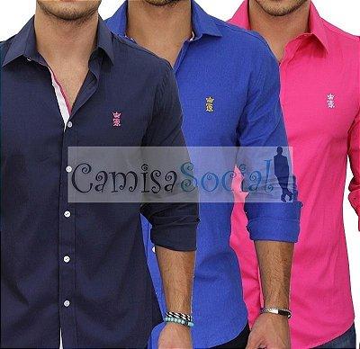 Camisa Social Sergio K - Atacado kit 10 peças