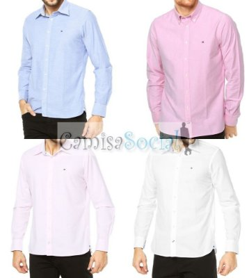 Camisa Social Tommy Hilfiger- Atacado kit 10 peças