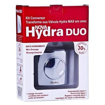 Kit Conversor Hydra Max para Hydra Duo 11/2 Cromado Deca