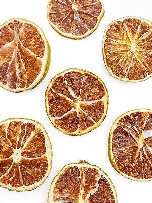 Limão Desidratado em Rodelas - 500 gramas