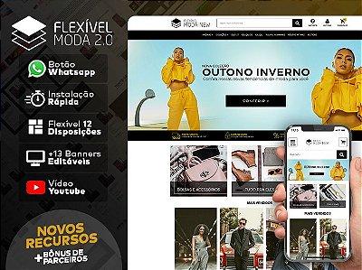 Tema Flexível - Moda 2.0 | Loja Integrada
