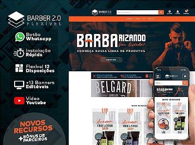 Tema Flexível - Barber 2.0 | Loja Integrada