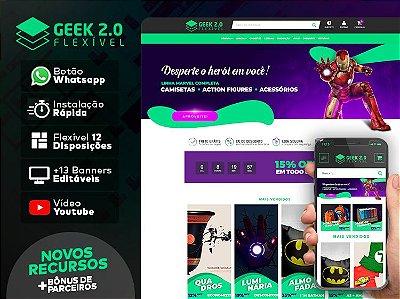 Tema Flexível - Geek 2.0 | Loja Integrada