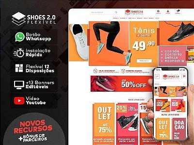 Tema Flexível - Shoes 2.0 | Loja Integrada