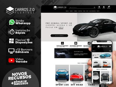 Tema Flexível - Car 2.0 | Loja Integrada