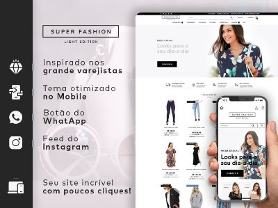 Tema Super Fashion Light | Loja Integrada
