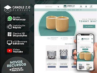 Tema Flexível - Candle 2.0 | Loja Integrada
