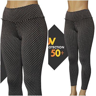 Legging 3D Proteção UVA+UVB 50