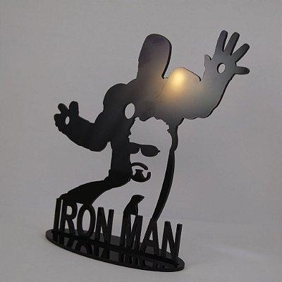 Topo De Bolo Temático (Homem de Ferro) Marvel - 14cm (maior lado da peça)  - Cor à Escolher