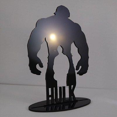 Topo De Bolo Temático (HULK) Marvel - 14cm (maior lado da peça)  - Cor à Escolher