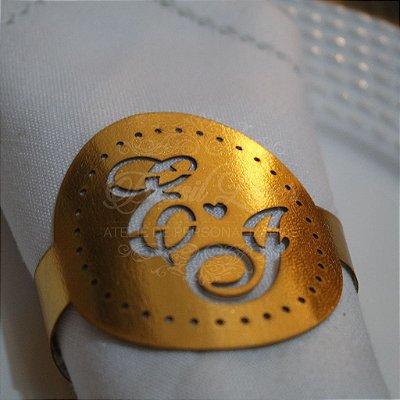 Porta Guardanapos Personalizados com as Iniciais que o Cliente Desejar em Courvin