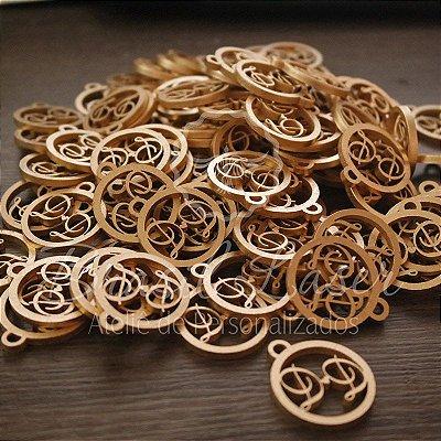 SUPER DESCONTO! Medalhas Para Bem Casados ou Bem Vividos em Mdf  Pintado com as Iniciais que o Cliente Desejar