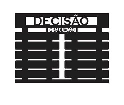 Porta Faixas com 10 espaços 60x45 cm Personalizado
