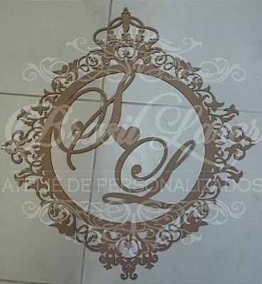 Monograma  Personalizado Para Parede Vários Tamanhos / Materiais com as Iniciais ou Nome que o Cliente Desejar