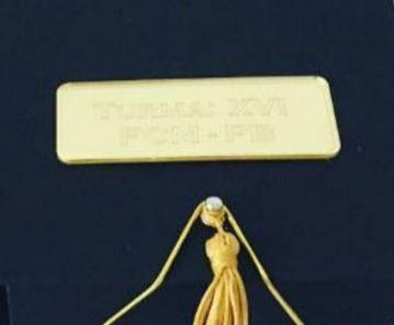 Plaquinhas Para Caixinhas Personalizadas em Acrílico Espelhado Dourado com o nome que o Cliente Desejar