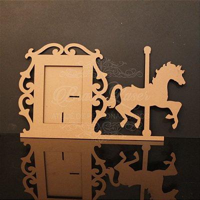 Porta Retrato Cavalo Carrossel (Opções de cores dentro do anuncio)