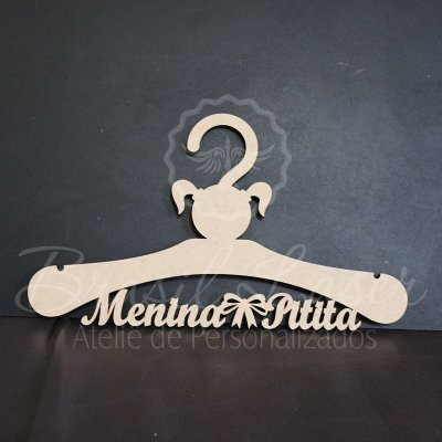Cabide Personalizado com o Nome, Nome da Debutante ou Noivos Casamento