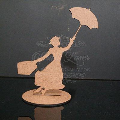 10 ou 15 Unidades - Centro de Mesa Mary Poppins (Não Personalizado) - Opções de Quantidade e Cor dentro do Anuncio