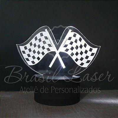 Topo de Led Premium com Acrílico Grosso Iluminado com Desenho à escolher Personalizado - Veja opções de Tamanho no Anúncio