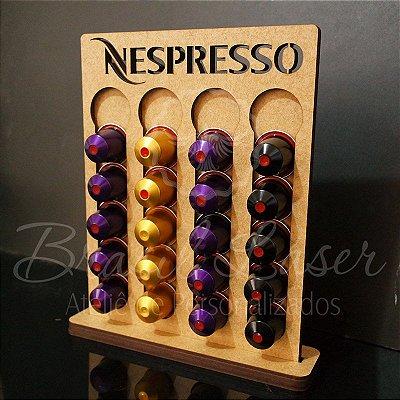 Porta Cápsulas Nespresso 20 Cápsulas - Selecionar cor dentro do anuncio ( cada cor tem um preço)