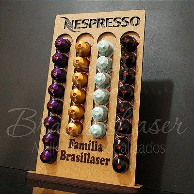 Porta Cápsulas Nespresso 28 Cápsulas e Personalizado - Selecionar cor dentro do anuncio ( cada cor tem um preço)