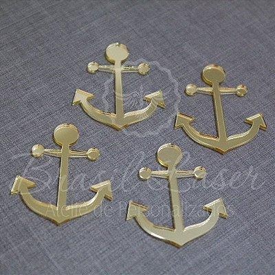 1 Aplique Para Decoração ( Âncora Marinheiro ) - Ver opções dentro do anúncio - Quantidade Mínima : 10 Unidades iguais