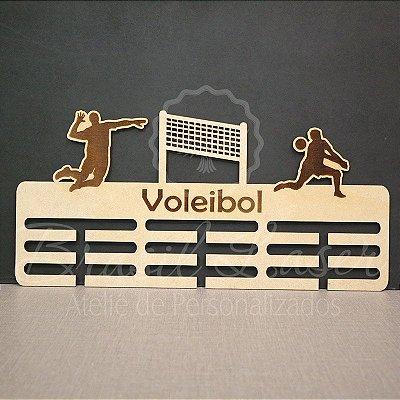 Porta Medalhas ( VOLEI ) Personalizado com o Nome - Opções de cor dentro do anuncio
