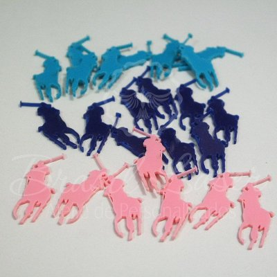 1 Aplique Para laços em Acrílico (Polo - Ralph Lauren) - Várias Cores - Ver opções dentro do anúncio - Quantidade Mínima : 10 Unidades