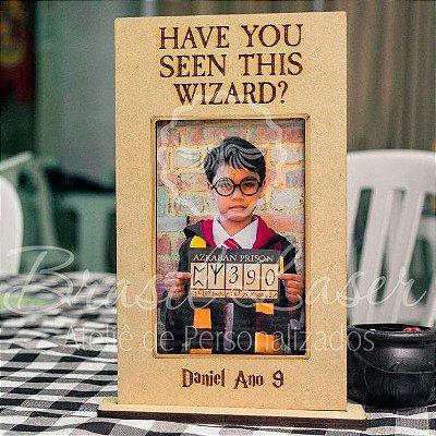 12 Portas Retratos Harry Potter para foto  10x15 em Mdf cru para Lembrança