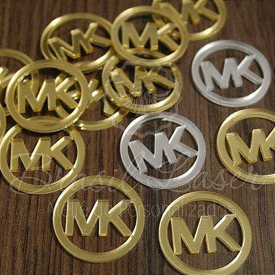 1 Aplique Para Laços ( MK MICHAELS KORS - Marcas Famosas) - Ver opções dentro do anúncio - Quantidade Mínima : 10 Unidades iguais