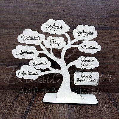 Árvore com Os Dons do Espírito Santo com 20 cm - Cor e Quantidade selecionar dentro do anuncio.