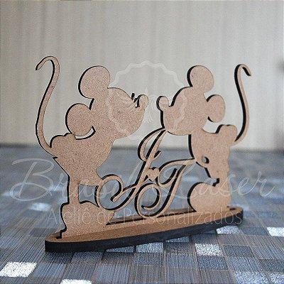 10 ou 15 Unidades - Centro de Mesa Minnie e Mickey  (Personalizado) - Opções de Quantidade e Cor dentro do Anuncio
