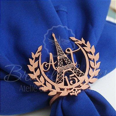 1 Porta Guardanapo em Mdf Paris / Torre Eiffel Personalizado  (Pintado e Sem Pintura) - #Quantidade Mínima: 10 unidades iguais#