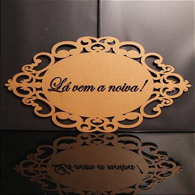 Placa Personalizada Para Entrada Noiva Pajem Padrinhos
