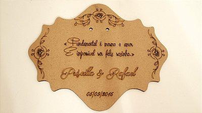 Porta Aliança Personalizado Anel Casamento Entrada do Pajem