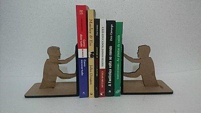 Par de Apoio Para Livros MDF - Modelo da Foto - Não Personalizável