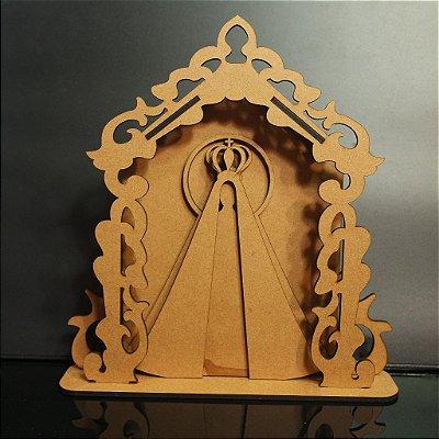 Oratório Nossa Senhora em mdf de 3 mm