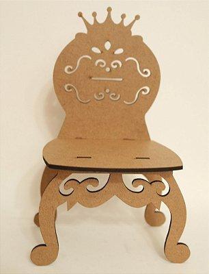 Mini Móveis - 20 Mini Cadeira com 19,2 cm de altura