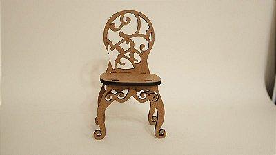 Mini Móveis - 20 Mini Cadeira com 12,9 cm de altura