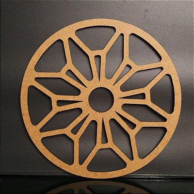 Mandala Quadro Decorativo em Mdf - Vários Tamanhos