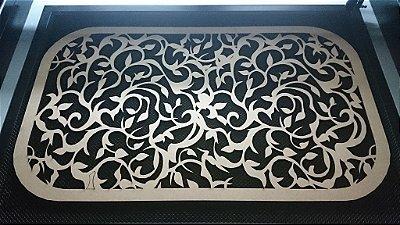 Quadro Florido 90x60cm em mdf de 6 mm Pintado ou sem pintura