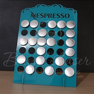 Porta Cápsulas Nespresso 36 Cápsulas - Cor e Tipo Material a Escolher