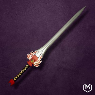 Réplica espada Ranger Vermelho - Mighty Morphin Power Rangers